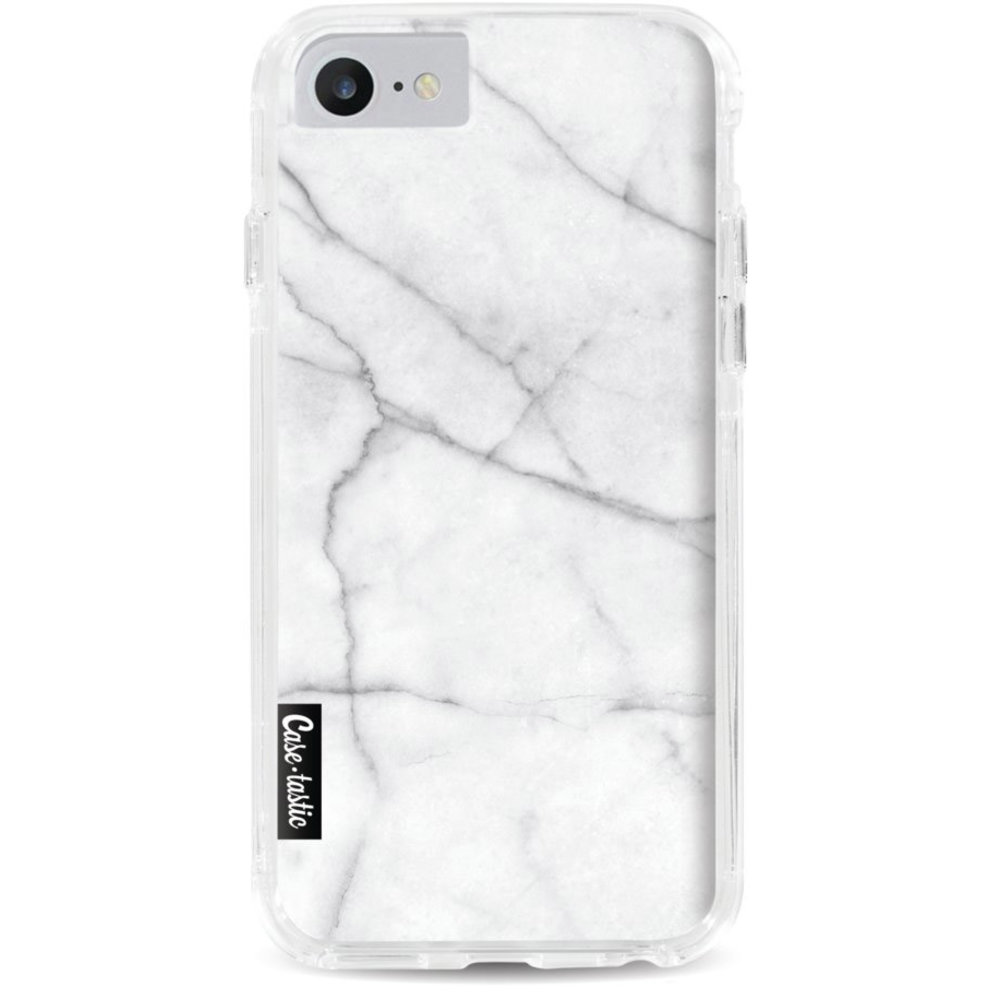Casetastic Dual Snap Case Apple iPhone 7/8 - White Marble